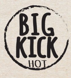 Big Kick Street Salsa Stamp